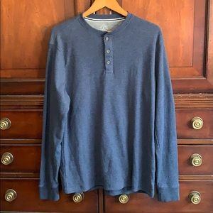 Large mens thermo blue